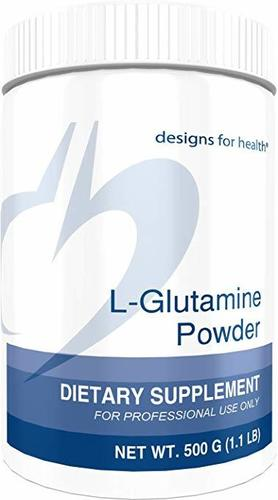 Designs for Health 3000mg L-Glutamine Powder 500g L-글루타민 파우더 (3000mg) 미국직배송