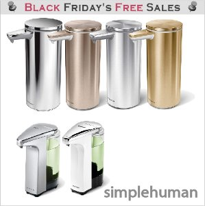 심플휴먼 자동 세제 디스펜서 / simplehuman Compact Sensor Pump Soap Dispenser